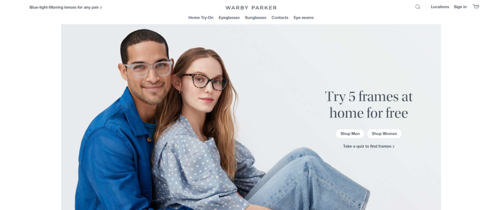 Warby Parker Home